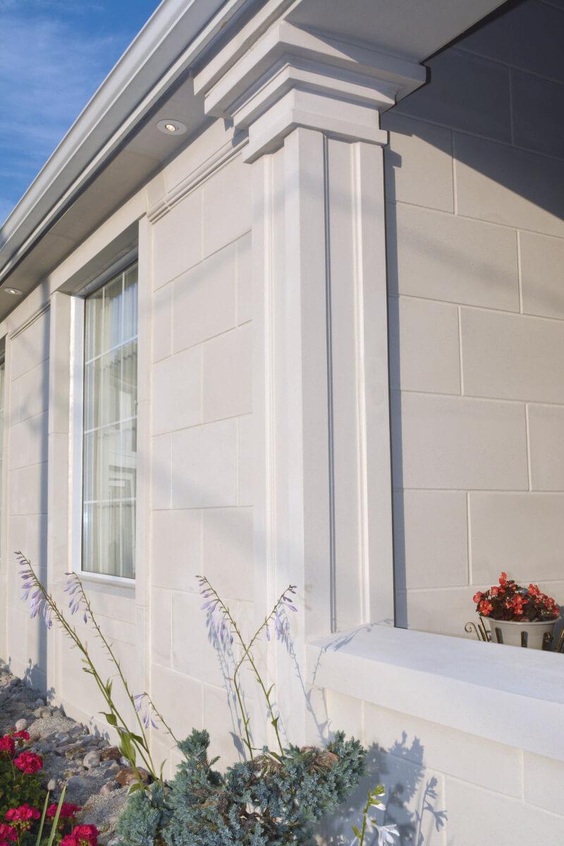 Exterior Limestone Application Lightweight Limestone