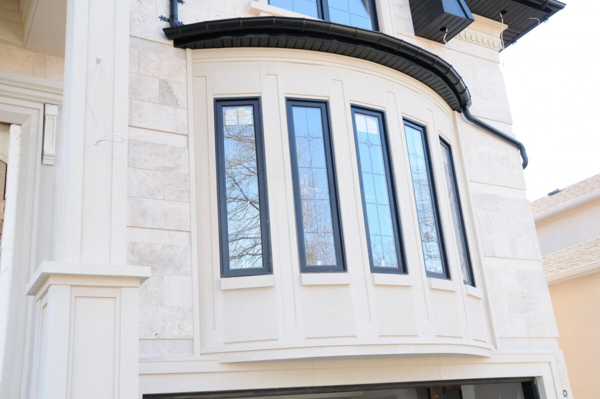 Exterior Limestone moulding