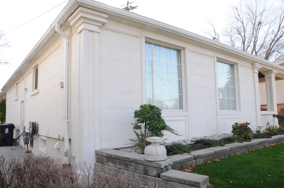Exterior Stucco Mouldings and Trim