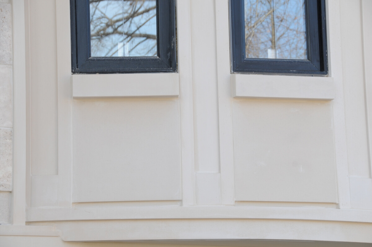 Indiana Limestone Trim and Molding look