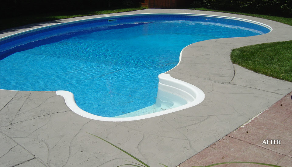 Swimming Pool Deck - Restored and Repaired