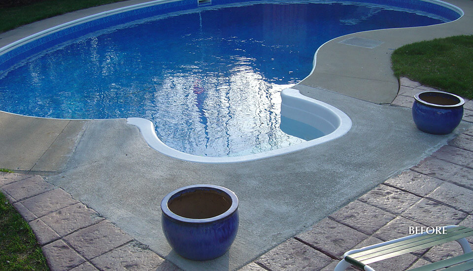 swimming pool deck repair and restoration building blocks construction