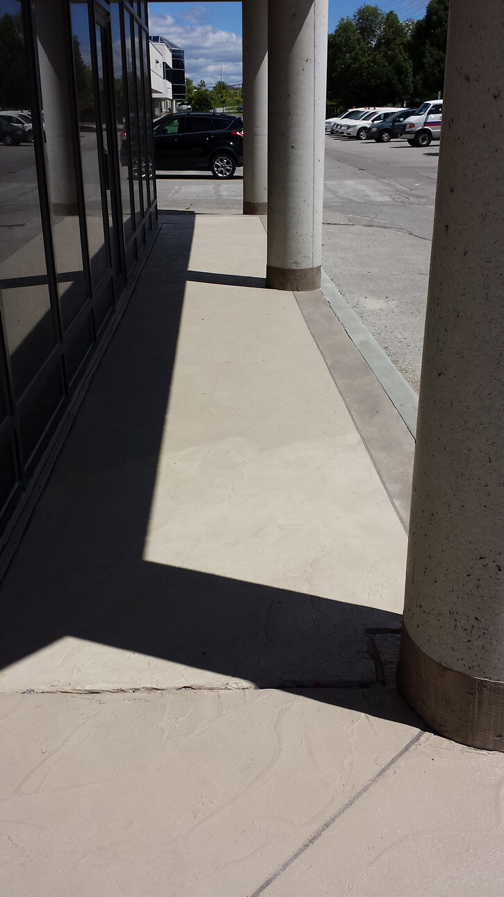 Markham Concrete Repair and Restoration - Decorative Concrete Overlays