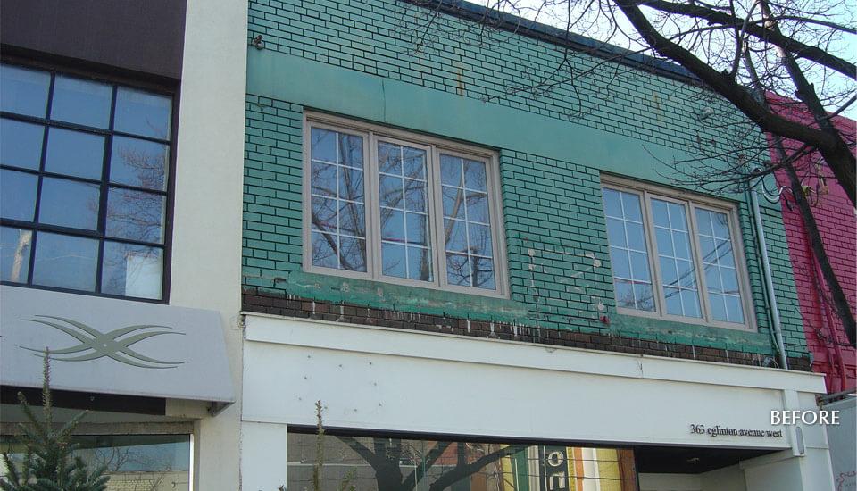 Eglinton, Toronto Store Building Restoration