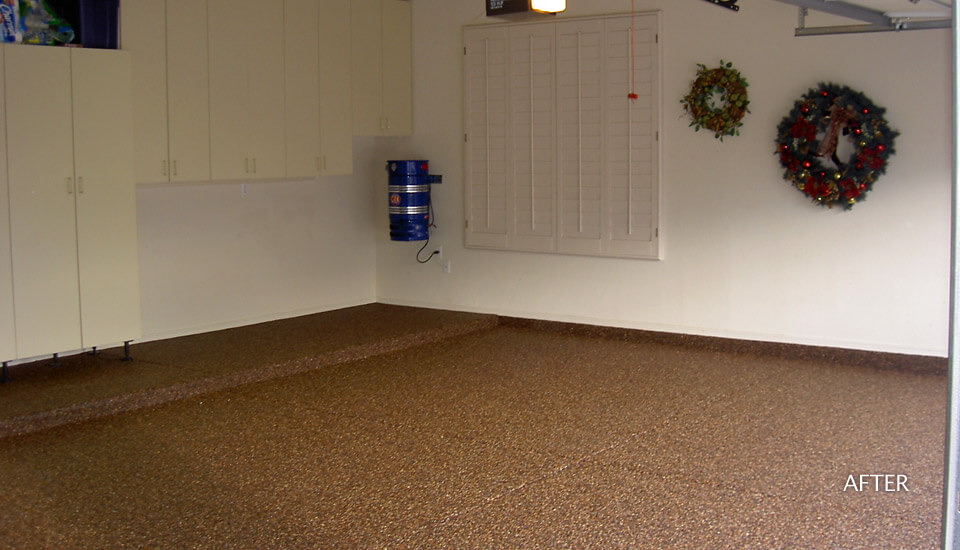 Garage Floor - Sierra Stone