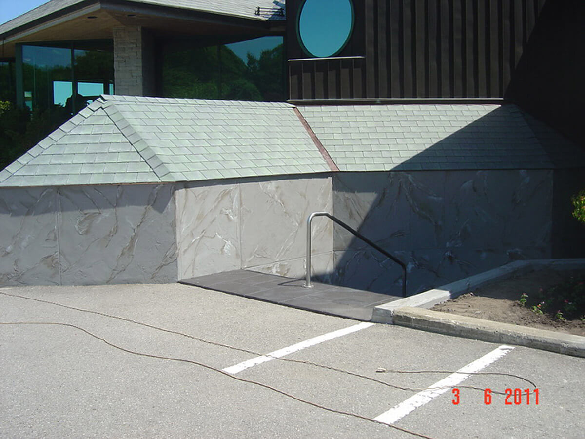 Commercial Stucco Finish - Golf Course