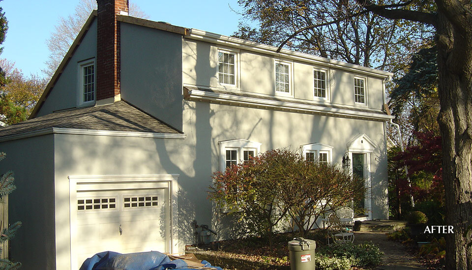 Coloured Stucco Application Contractor - Mississauga