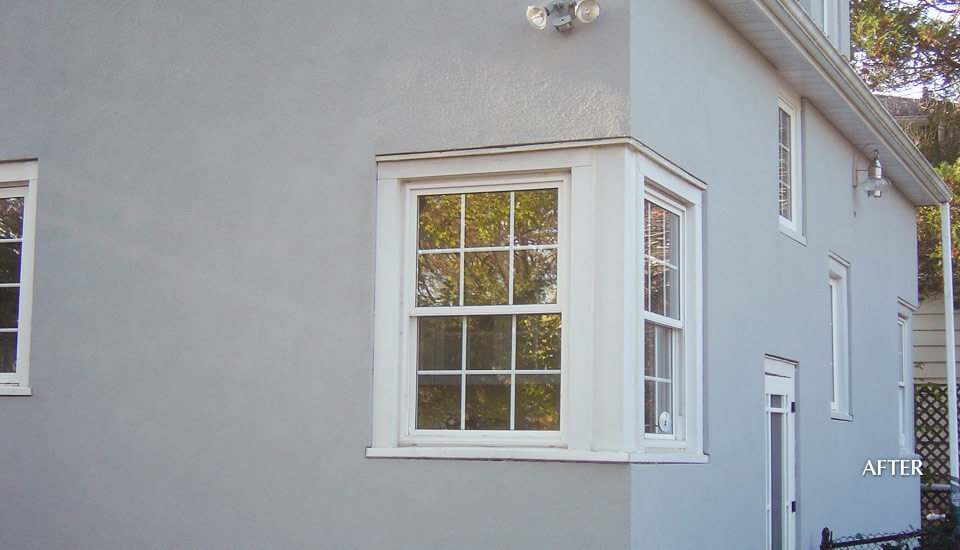 After - Stucco Siding