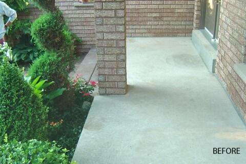 Concrete Veranda – Jewel Stone – Mississauga, Ontario