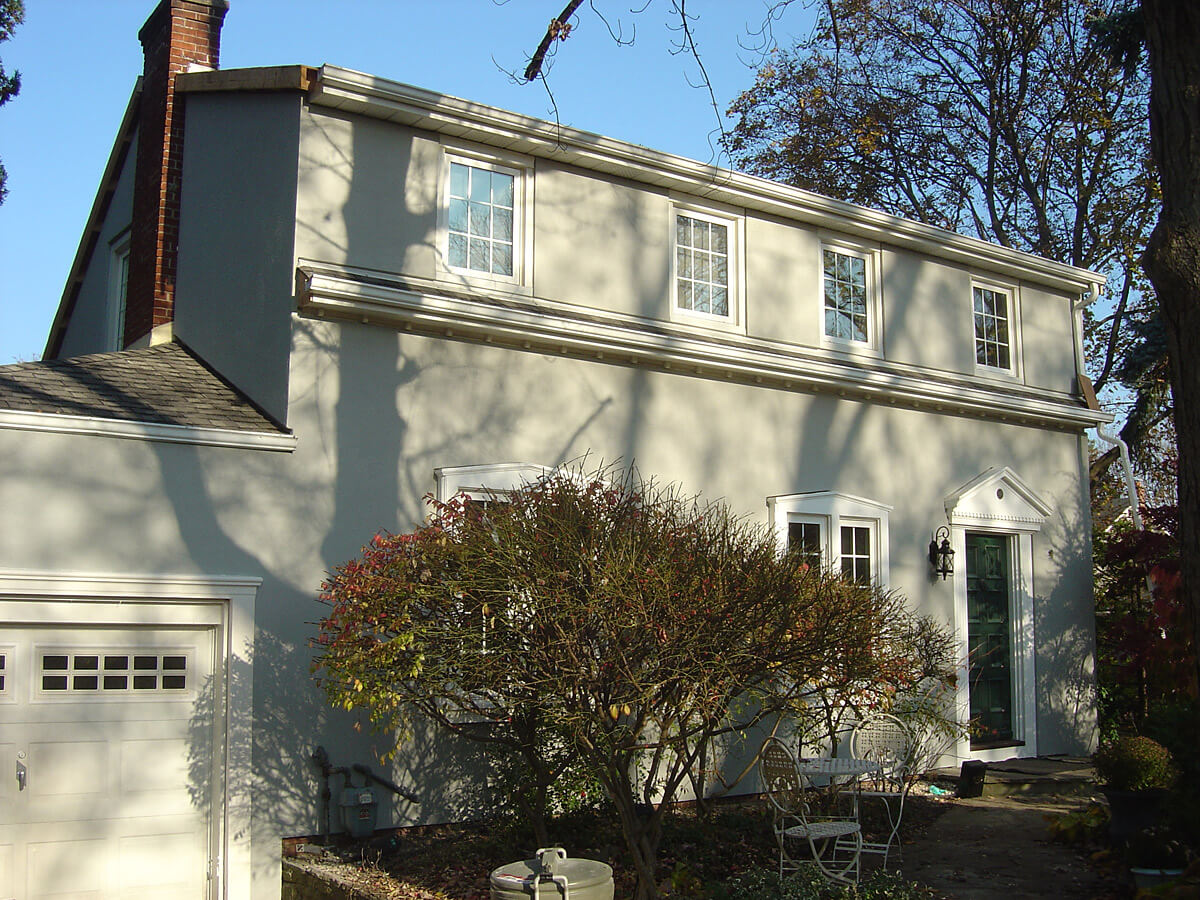 Stucco Repair and Restoration - After