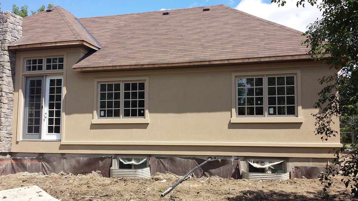Home renovation ideas stucco building blocks construction for External house renovation