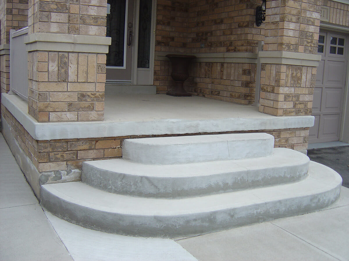 Covering Concrete Steps Precast : Rejczell misz masz patio designs mississauga
