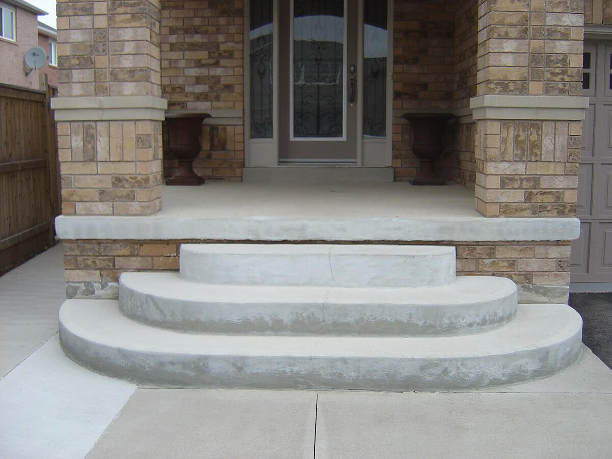 Sandalwood Parkway Brampton Decorative Concrete Overlay