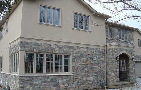 Port Credit, Mississauga U2013 Complete House Stucco And Stone Application