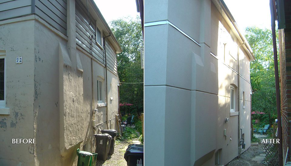Before After Stucco Ideas