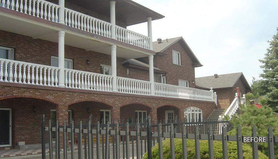 Hotel Stucco Repair and Restoration