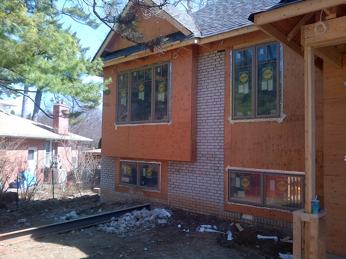 House Renovation - Exterior Stone