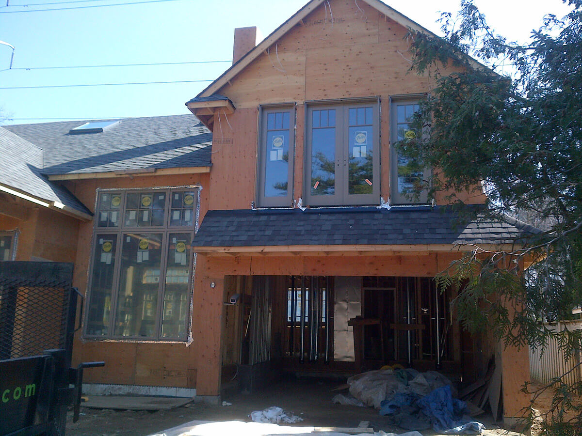 Exterior Stone Ideas - Before