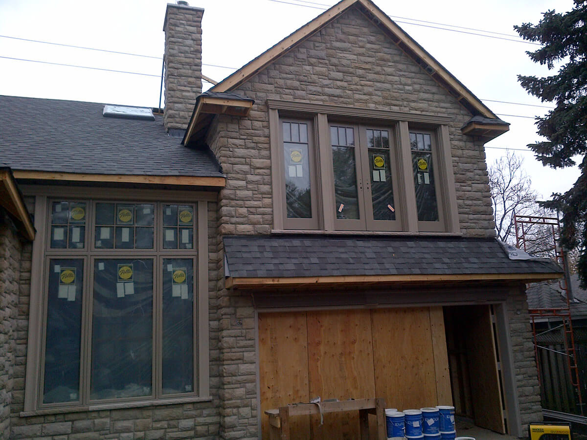 Exterior Natural Stone Veneer Examples Building Blocks