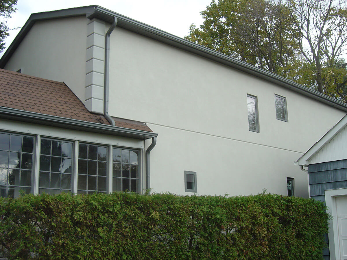 Exterior Wall Finish - Stucco