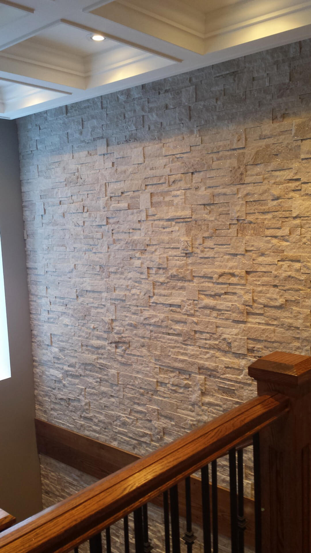 Indoor Natural White Stone Veneer