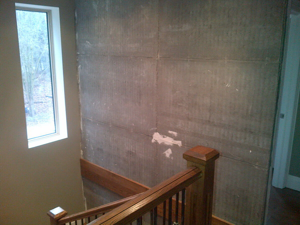 Indoor Wall Ready for Natural Stone Installation