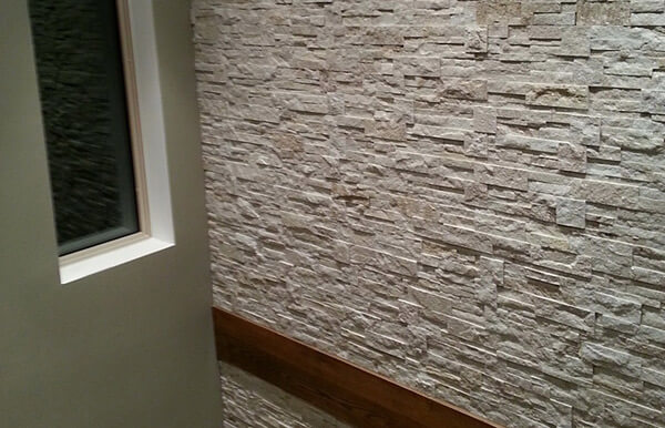 Indoor Stone Wall