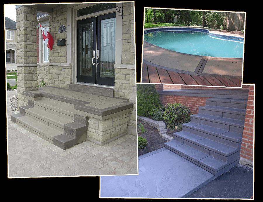 Jewel Stone Decorative Concrete Overlay