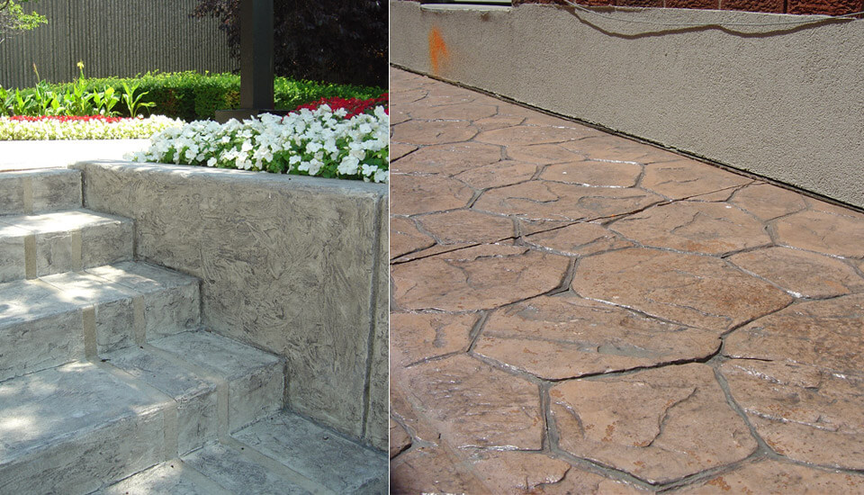 Jewel Stone on Walkway and Steps