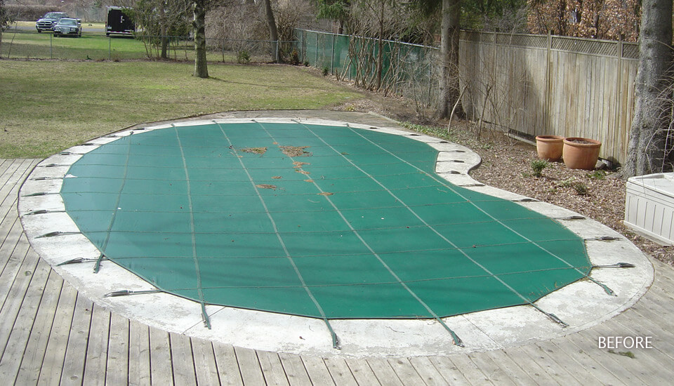 Swimming Pool Damaged - Repair and Restore