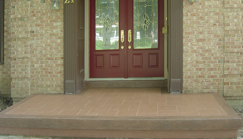 Front Porch Concrete Repair and Restoration