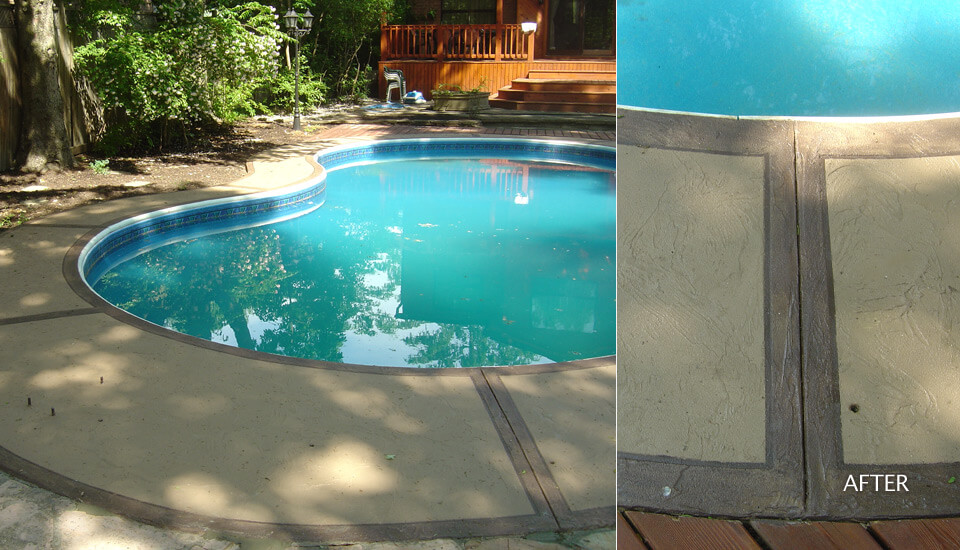 Swimming Deck Repair and Restoration
