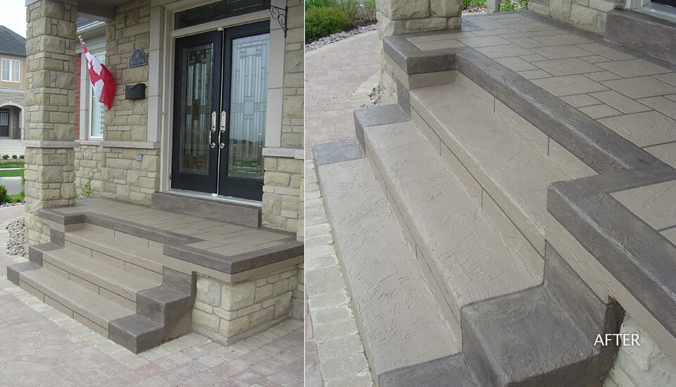 Concrete Step Restoration