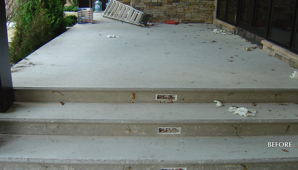 Before - Concrete Slab Design Ideas