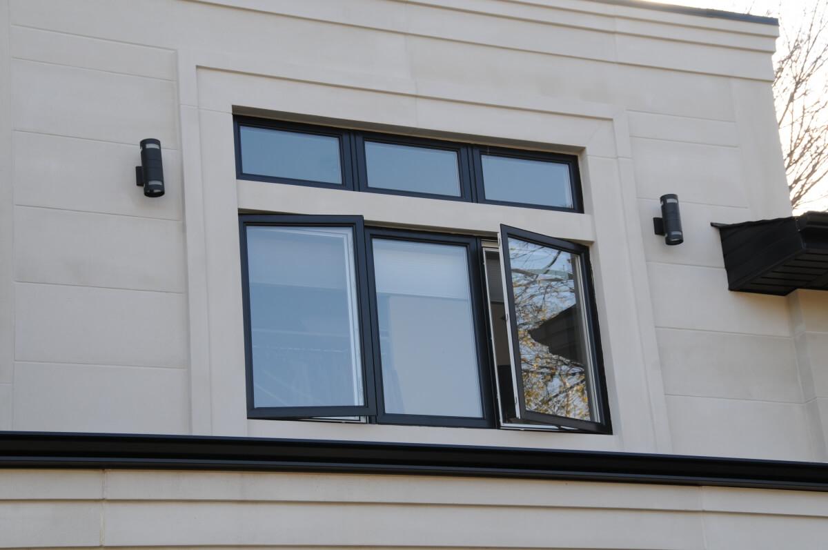 Lightweight limestone window surround