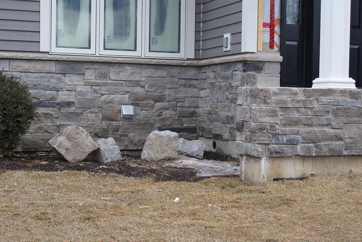 Outside Stone Design Ideas Building Blocks Construction