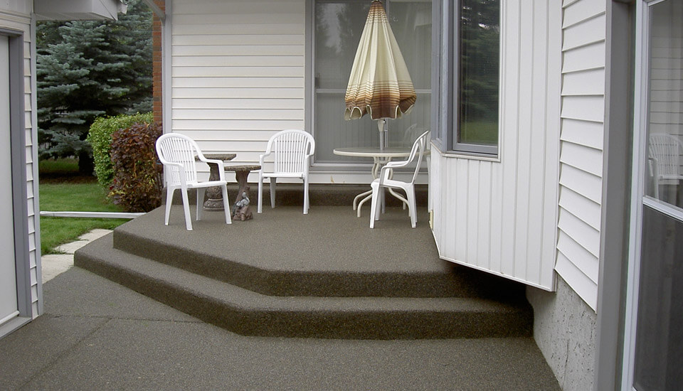 House Patio - Natural Sierra Stone