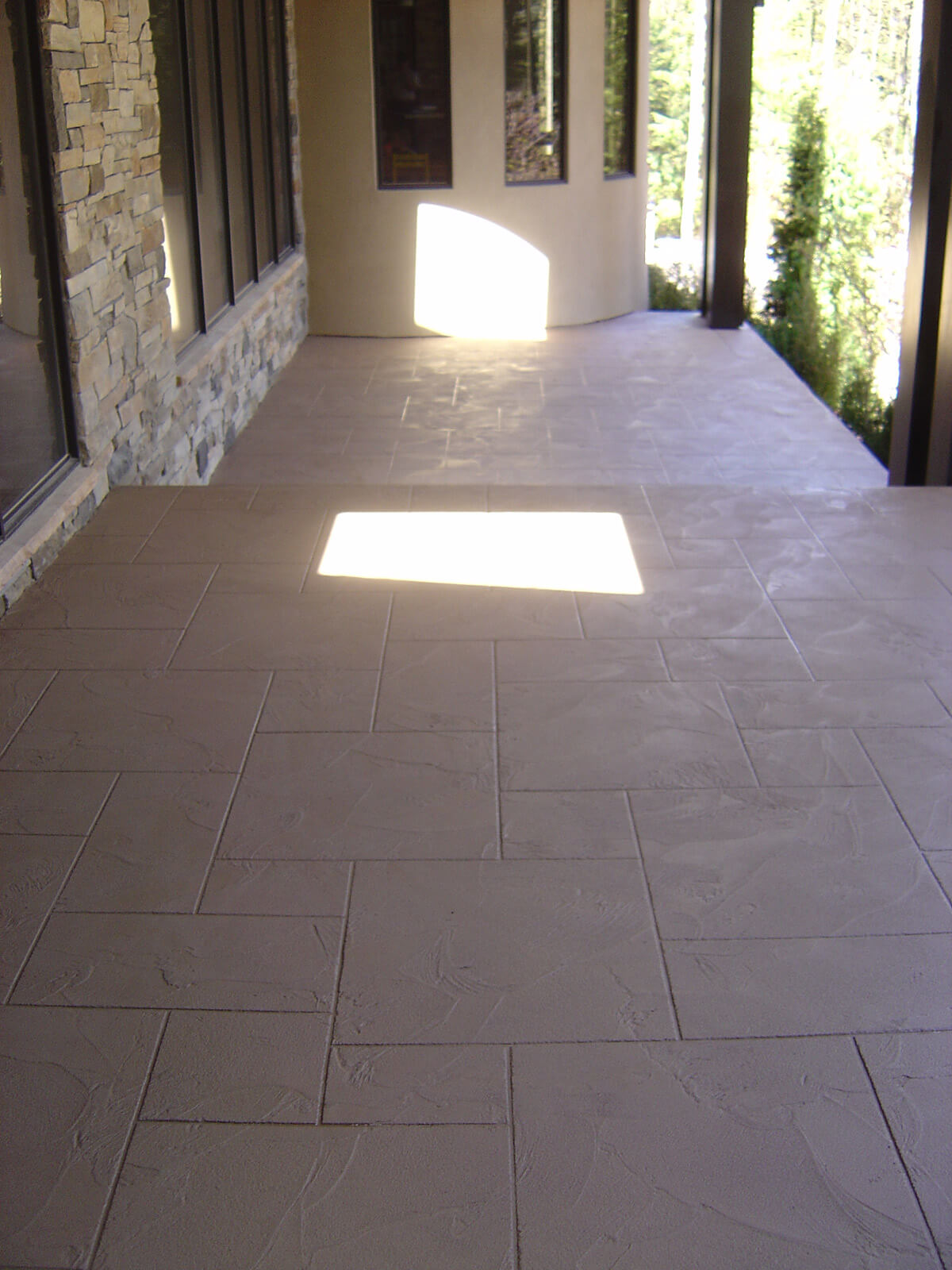 Decorative Concrete Overlay - Polymer cement overlay