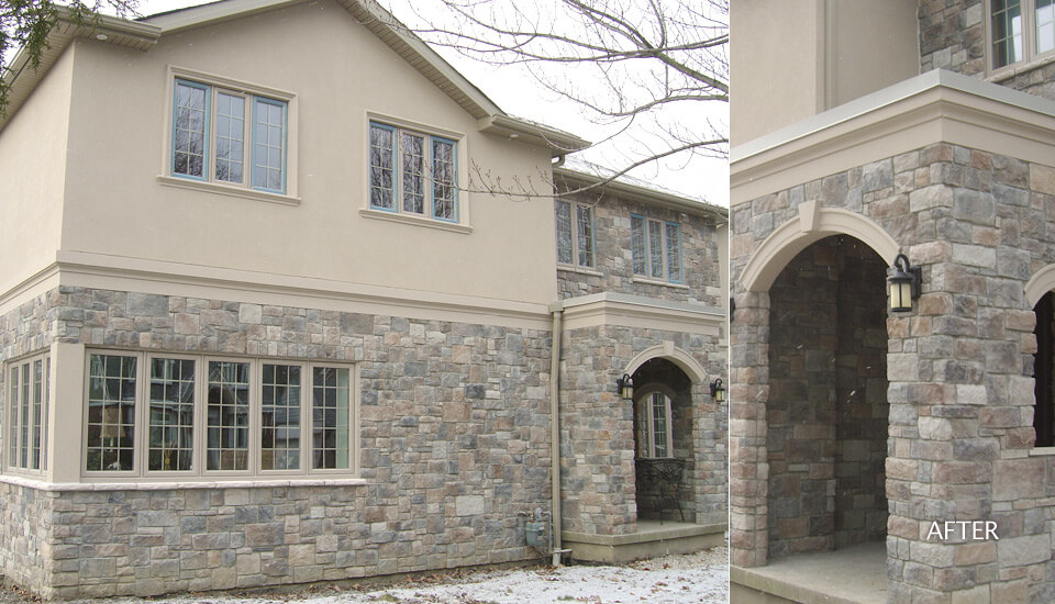 Manufactured Stone Veneer Siding