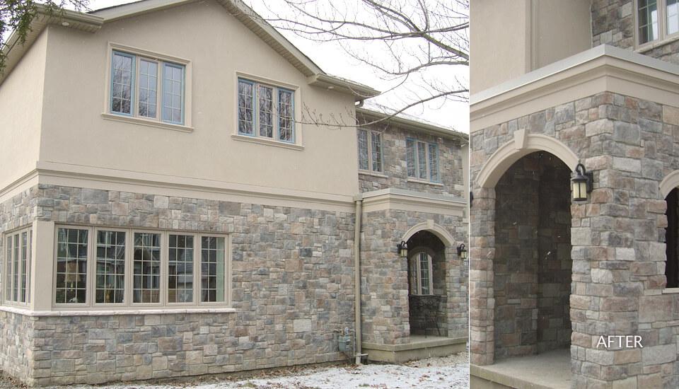 Manufactured Stone Veneer Siding Building Blocks Construction