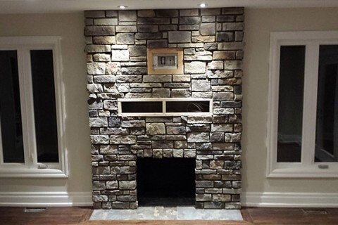 Richmond Hill – Interior Stone Works – Stone Veneer