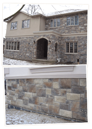 Stone Veneer Contractor in Mississauga and Toronto Area