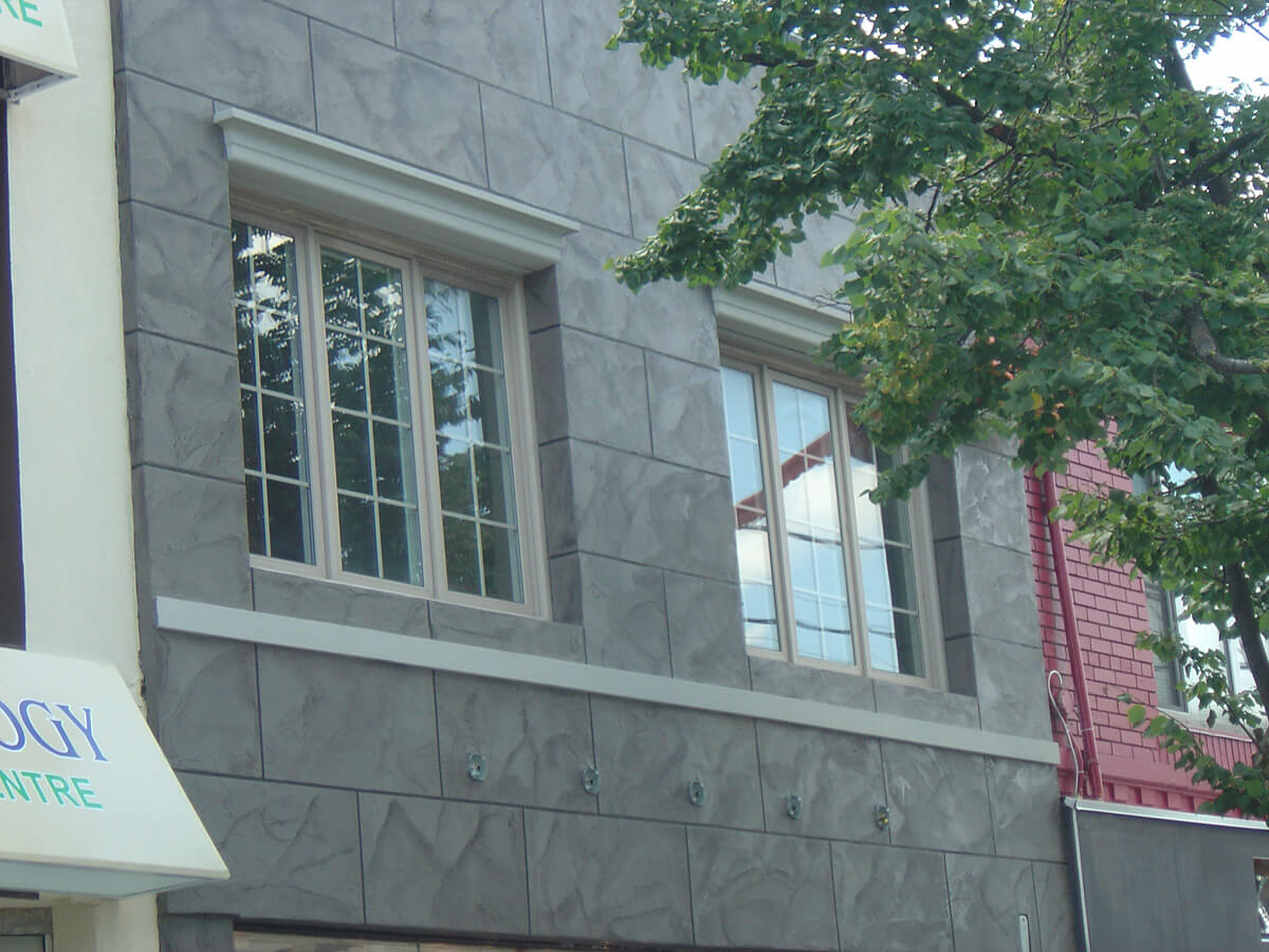 Exterior Store Front - Decorative Stone Veneer