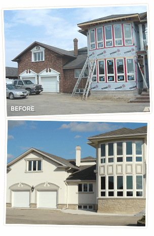 Stucco missisauga (Before-After)