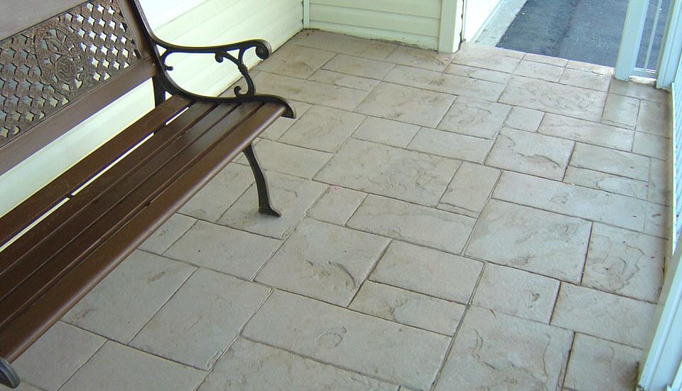 Jewel Stone Stamped Pattern Design