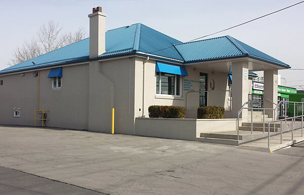 Commercial Building Exterior Stucco Repair and Restoration - Mississauga Concrete Contractor