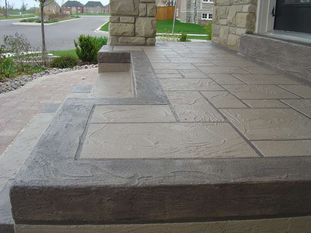 Concrete Repair and Restoration Before and After - Milton, Ontario