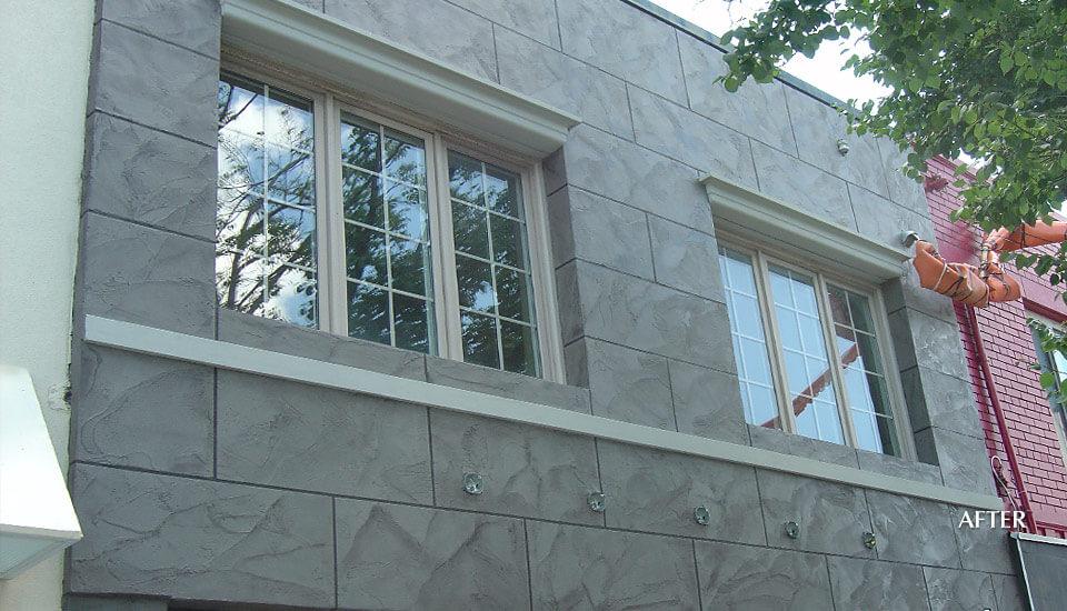 Commercial Storefront Concrete Repair