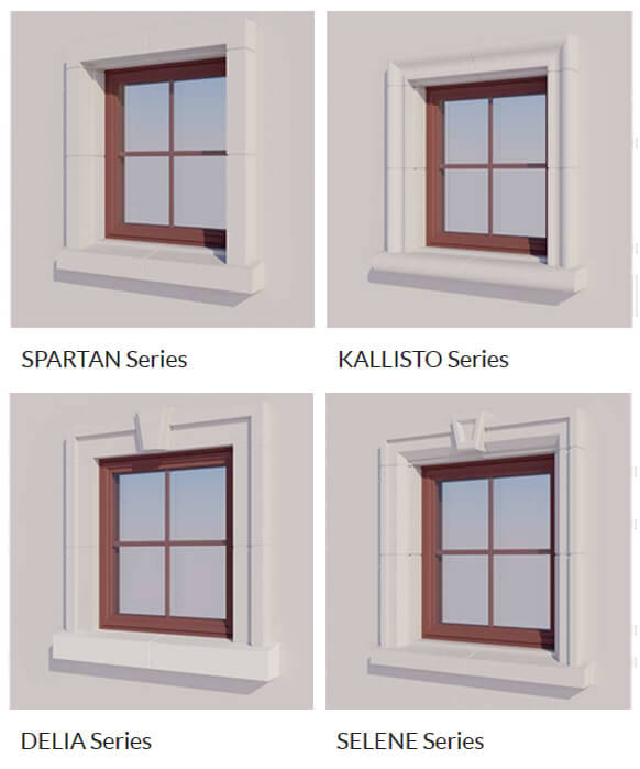 exterior window surrounds