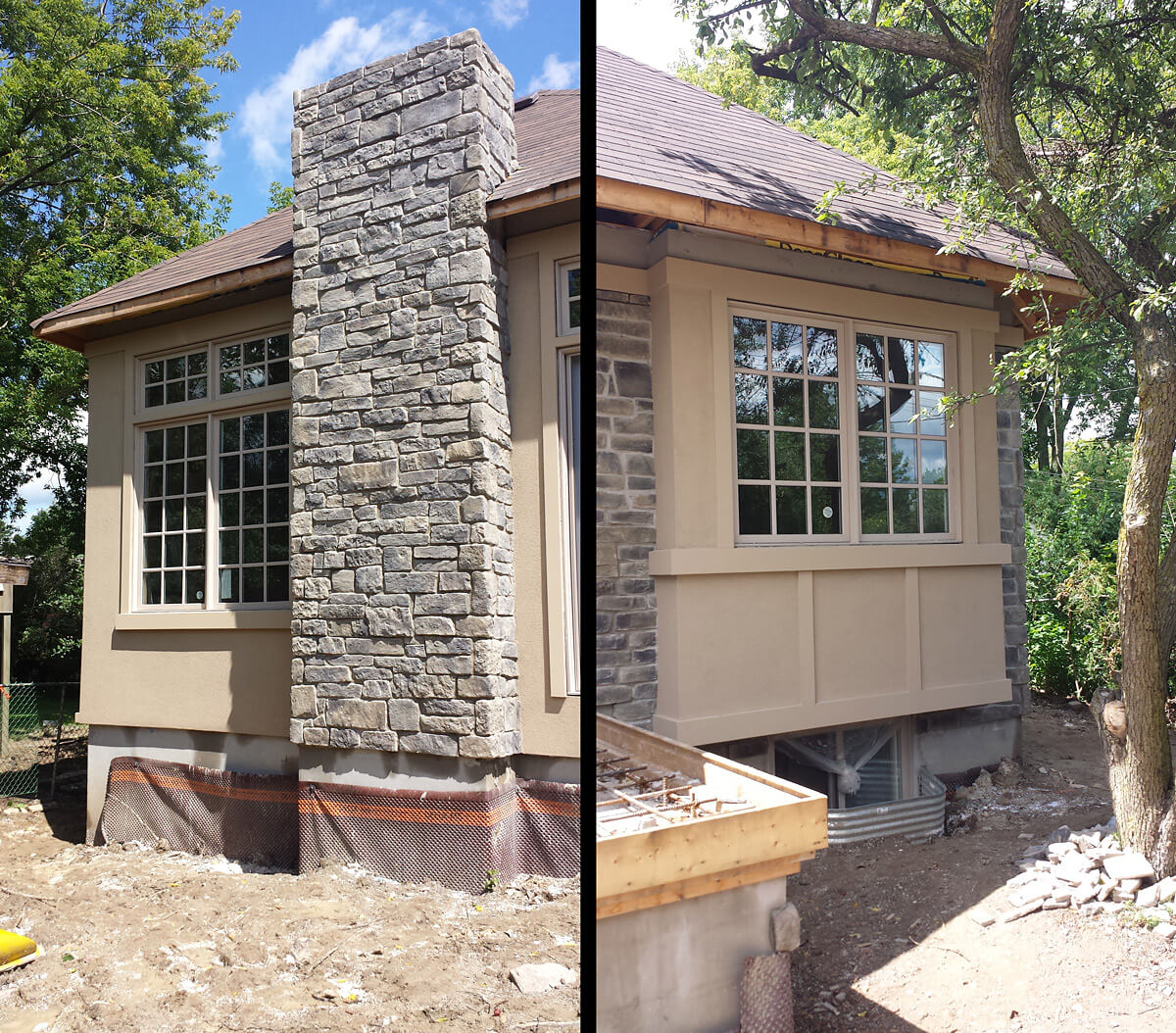 Exterior: Exterior Stone And Stucco